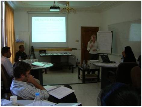 Capacity Building-Formal (Classroom) and Informal (on the job training), Yemen, 2009:  A. Classroom