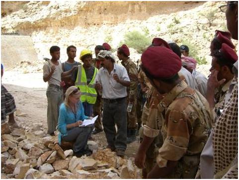Capacity Building-Formal (Classroom) and Informal (on the job training), Yemen, 2009:  B. on the job